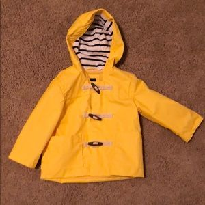 Baby gap toddler raincoat